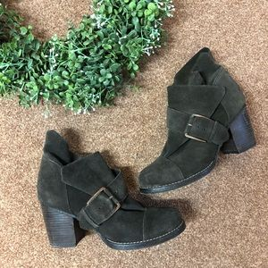 Joe's Jeans suede Grant heeled boots 10